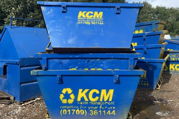 different sized skips