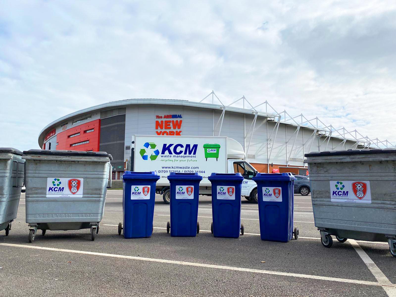commercial bin sizes